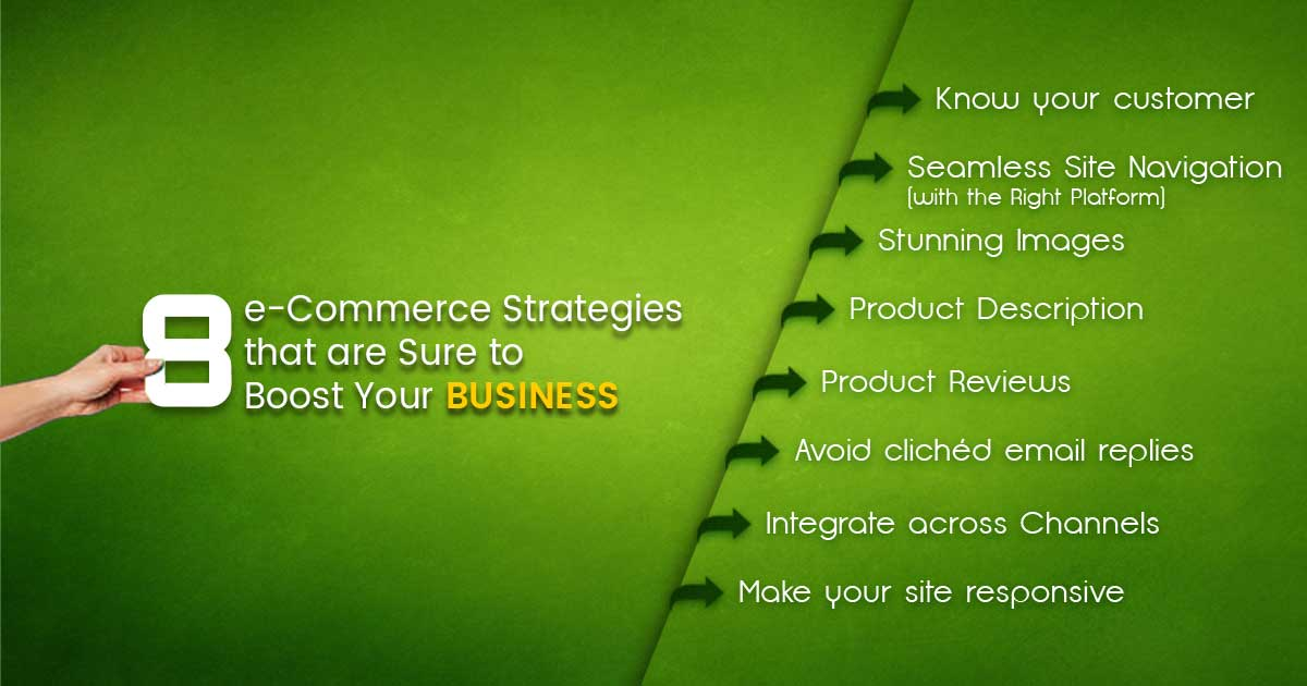 8 eCommerce Strategies to Boost Your Business - Top eCommerce Platforms