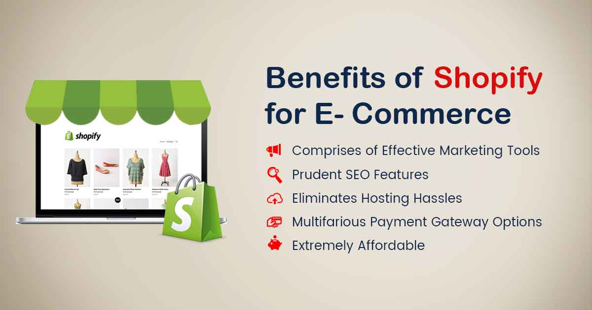 Why is Shopify Beneficial for E-Commerce Startups | ecommerce web development | Blog