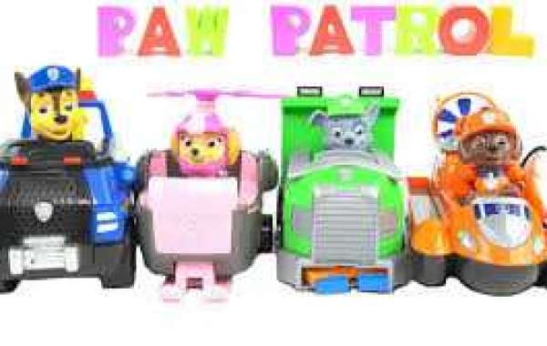 The various paw patrol names of the toys