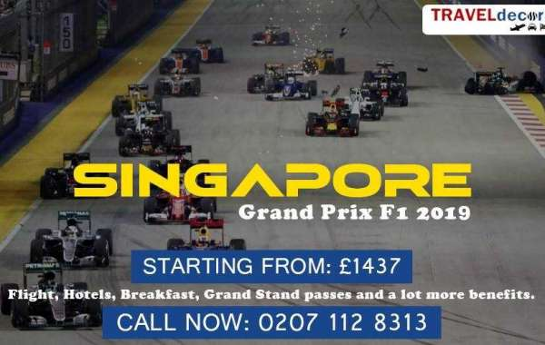 Traveldecorum announces Singapore Grand Prix Travel Packages