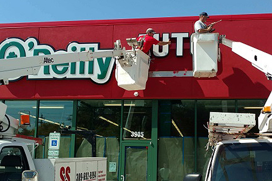 Sign Installation in Peoria IL | Contact the S&S Team Today!