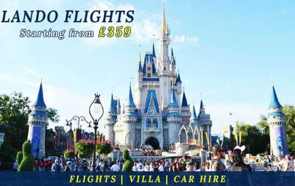 Cheap Flights Tickets to Orlando from London UK