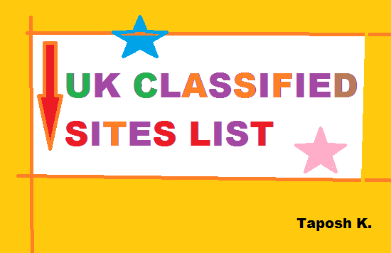 Best 224 High DA UK Classified Submission Sites List-Use Now