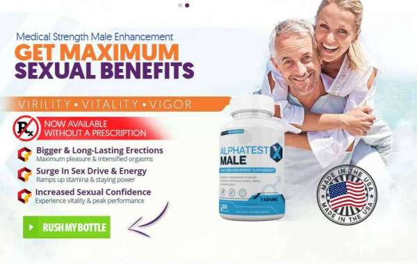 AlphaTestX - Drive Formula For Male Enhancement