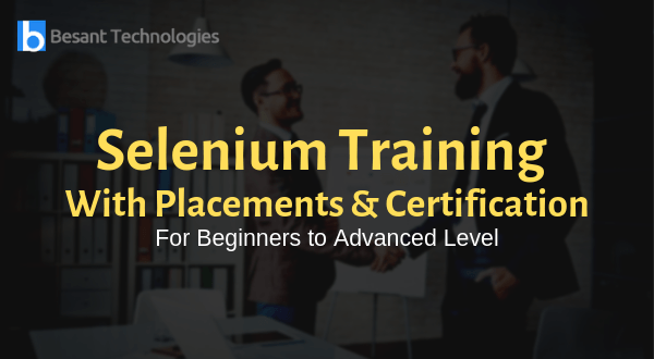 Selenium Training in Chennai | Selenium Course in Chennai | 15% OFF