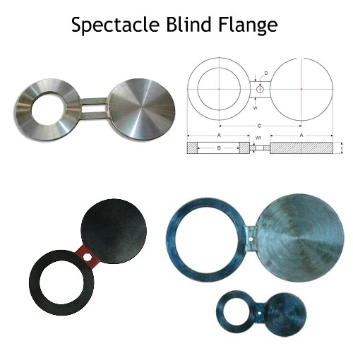 Stainless Steel Spectacle Blind Flange Manufacturers, SS Spectacles