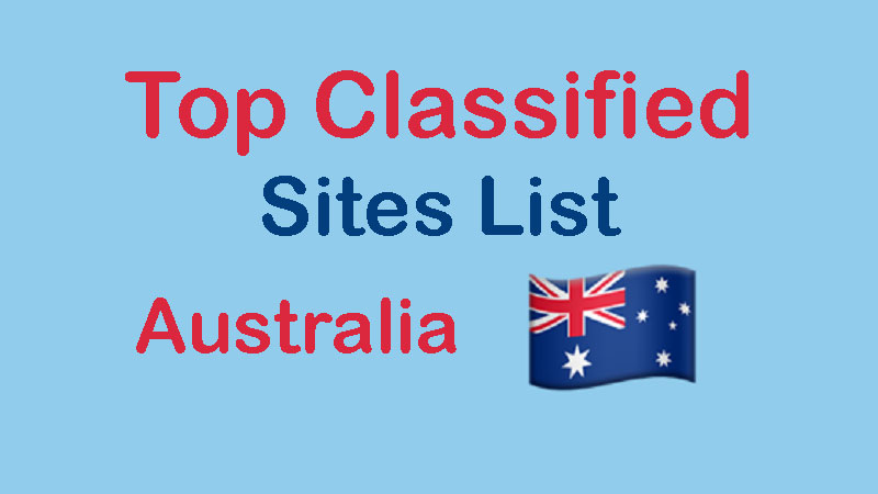 Top 150+ Free Australia Classifieds Sites List 2019