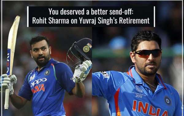 You deserved a better send off: Rohit Sharma on Yuvraj Singh's Retirement