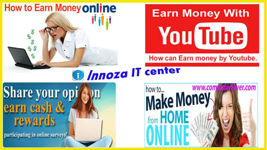 Earn money from Internet | Innoza IT Center, Udaipur