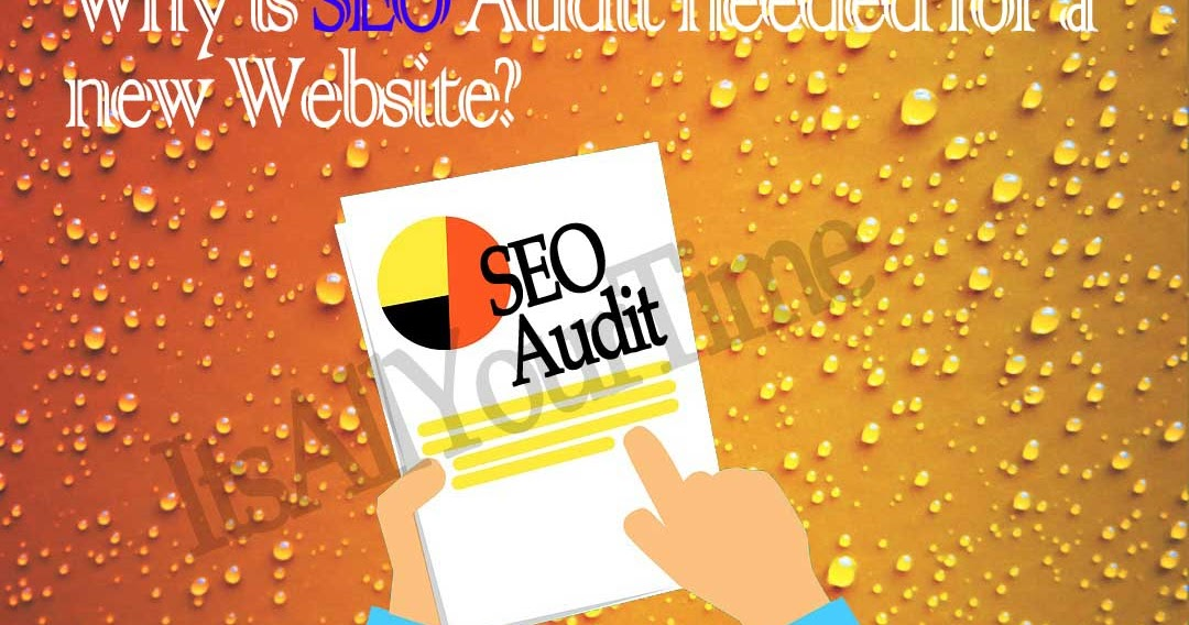 Why is SEO Audit needed for a new website?