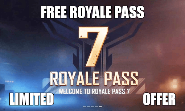100% Free Royale Pass – For PUBG Mobile And Free Fire