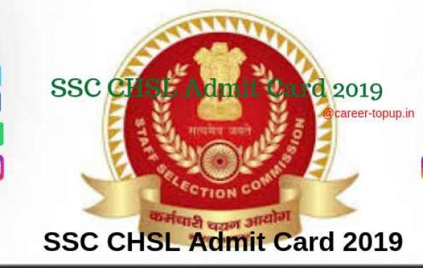 SSC CHSL Admit Card 2019 ONLINE DOWNLOAD.