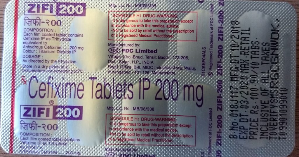 Zifi 200 uses ,Composition ,price,dose and Side effect