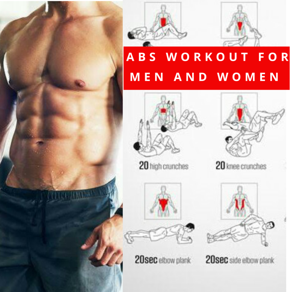 Best abs workout for men and women - Mensnature