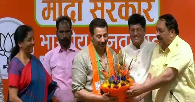 Actor Sunny Deol Joins BJP : Elections 2019