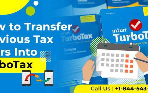 How to Transfer Previous Tax Years Into TurboTax