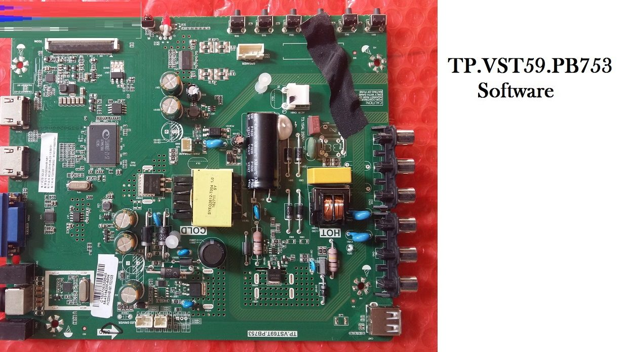 TP.VST59.PB753 Software Download for LED Board - The Tale