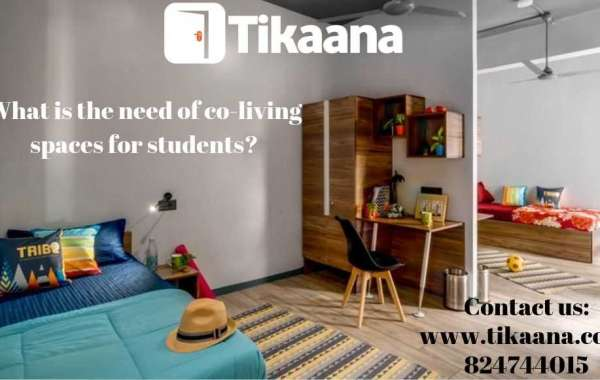 What is the need of co-living spaces for students?