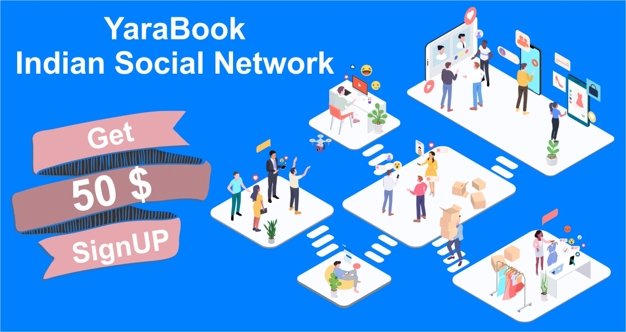 YaraBook – Indian Social Network   Connect with Friends, Family   YB