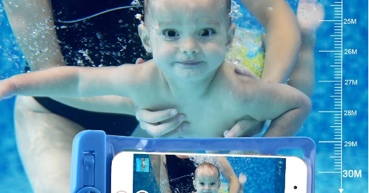 Get Coolshit: Protect Your Mobile With The Underwater Case For Mobile Phones