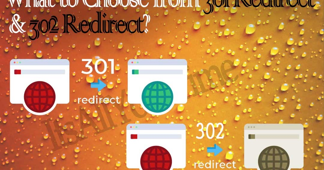 What to Choose from 301 Redirect & 302 Redirect?
