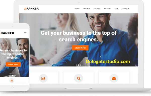 Ready made professional website