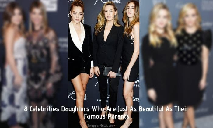 8 Celebs Daughters Who Are Just As Beautiful As Their Famous Parents