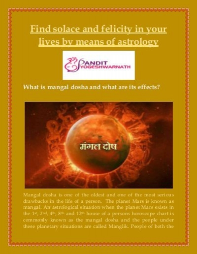 Find solace and felicity in your lives by means of astrology