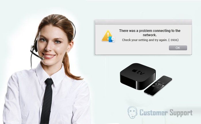 Fix Apple TV Error 3906 Code in a Single Call at 1-888-239-5201