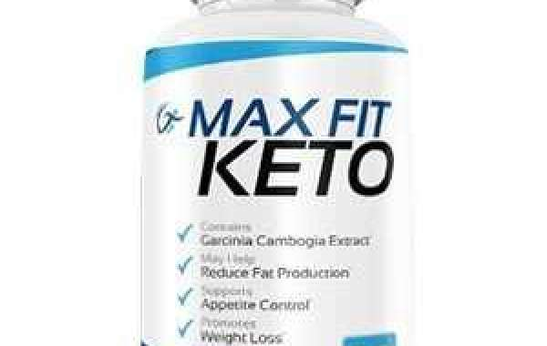 Max Fit Keto Diet Pills | Ingredients | Official Website!