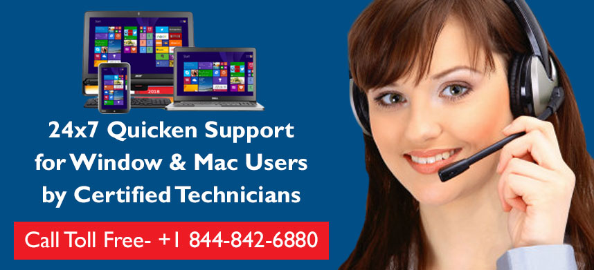 Quicken Assist Support Number +1 (844) 842 6880 | Quicken 2019