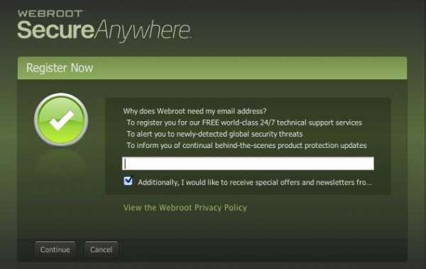 How do I download Webroot onto a new computer?