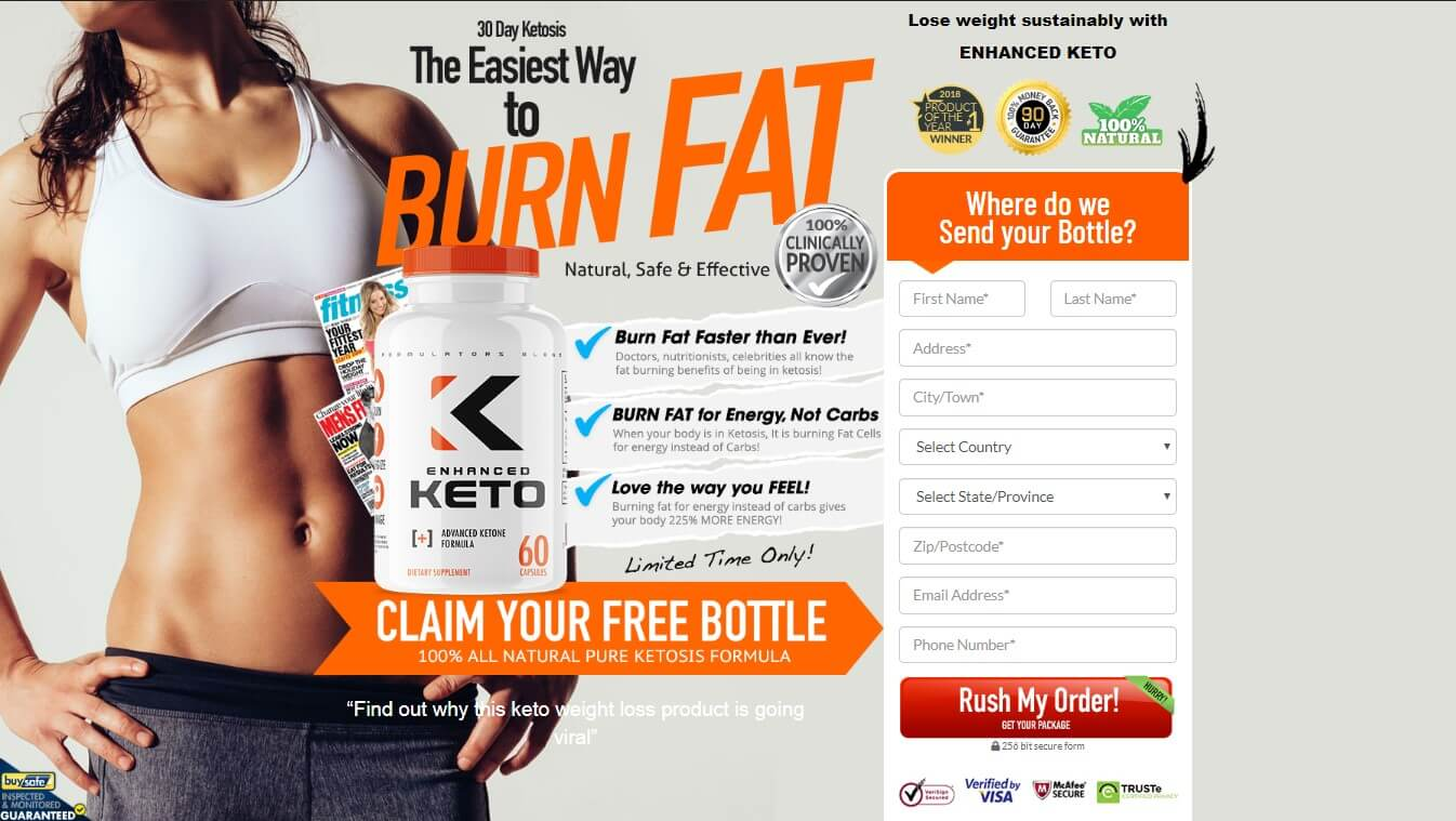 Enhanced Keto- The New Age Weight Loss Pill - Pure Life Keto