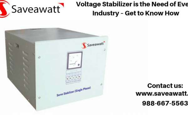 Voltage Stabilizer is the Need of Every Industry – Get to Know How