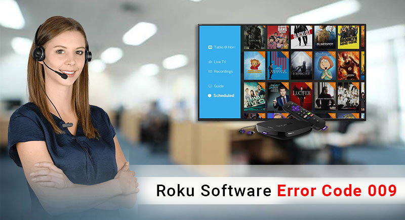 How to fix Roku Software Error Code 009 | Call +1-888-239-5201 Toll Free