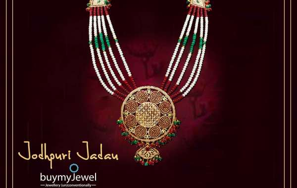 Jadau Necklace Set - Jadau Jewellery Online - buymyJewel
