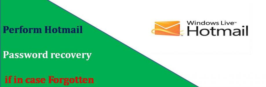 Perform Hotmail Password recovery if in case Forgotten Your Hotmail Password Cover Image
