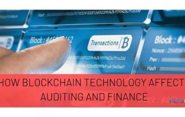 How blockchain technology effects auditing and finance?