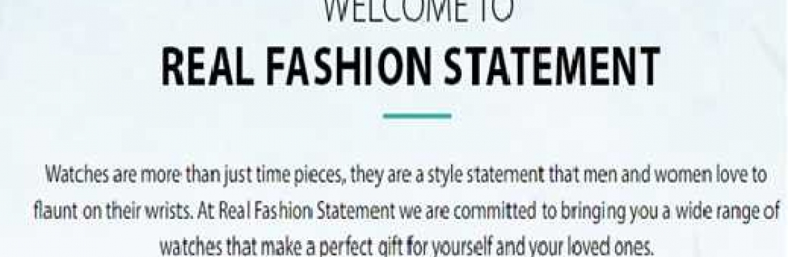 Real Fasion Statement Cover Image