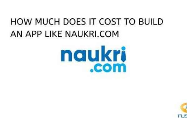 HOW MUCH DOES IN COST TO BUILD AN APP LIKE NAUKRI.COM?