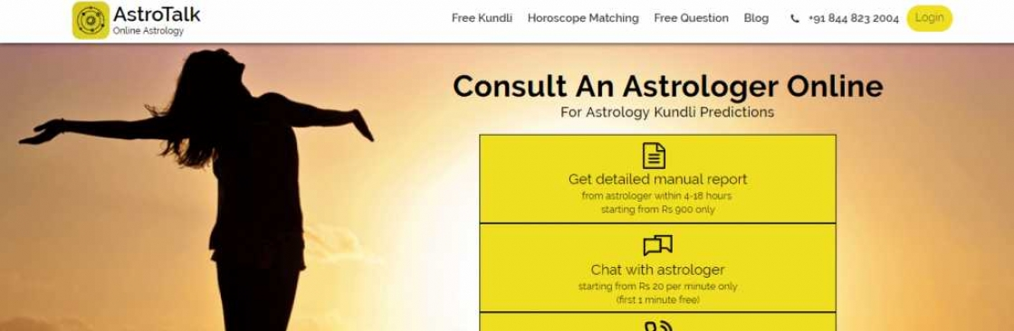 AstroTalk Best Astrology Website Cover Image