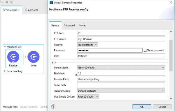 Connect to an FTP Server using MuleSoft
