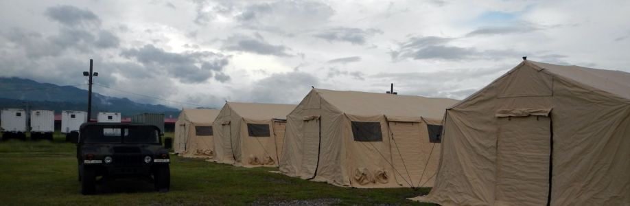 U.S. Military Tents Cover Image