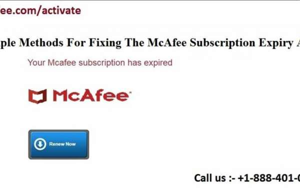 Simple Methods For Fixing The McAfee Subscription Expiry Alert