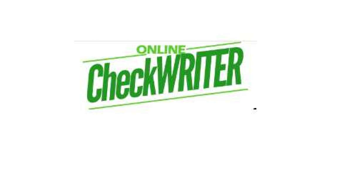 Online Check Writer - Check Writing Software