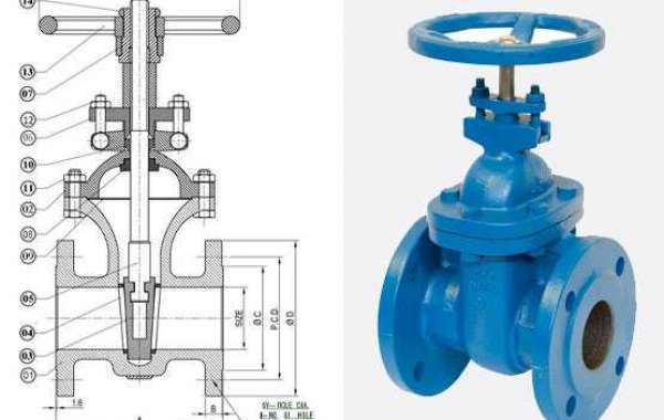 The gate valve would be the one you need