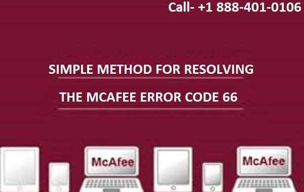 Simple Methods For Resolving The Mcafee Error Code 66