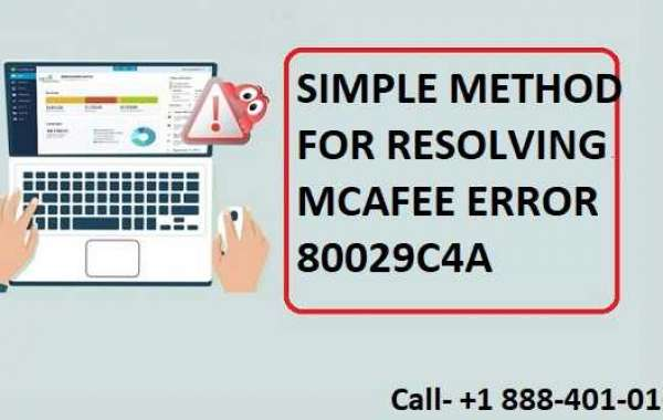 Simple Methods for Resolving the McAfee Error Code 80029c4a