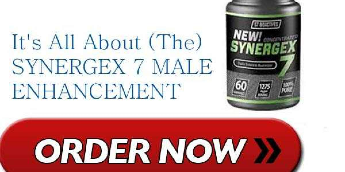 Today here I m going to review a male enhancement supplement Synergex 7