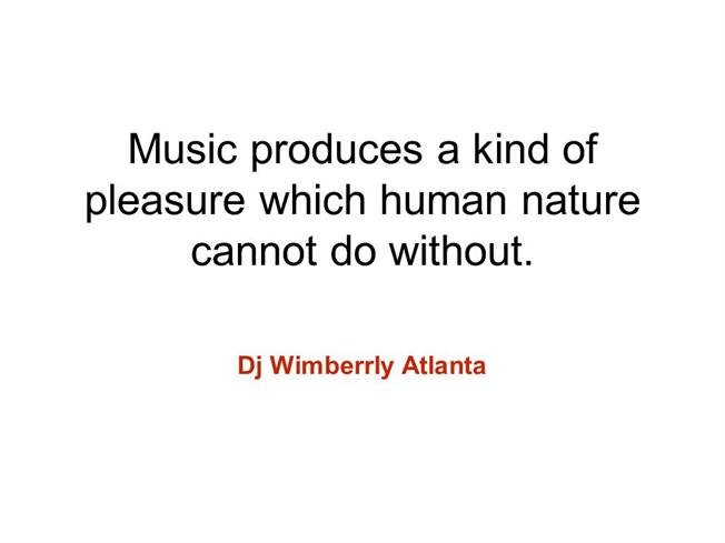 Music Produces a Kind of Pleasure Which Human Nature Cannot Do Wit..  authorSTREAM